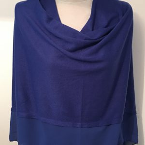 Fine Wool Mix Cover Up/Poncho